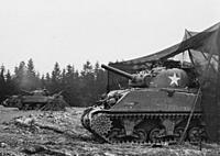 Name: 750TB_M4Sherman_Manhay-1.jpg Views: 53 Size: 346.4 KB Description: Sherman M4A3  105MM ...Fire Support... Manhay; Belgium