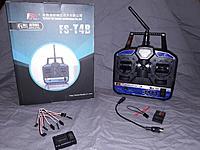 FlySky T4B + FS 6ch Receiver + Gyro/Flight Stabilizer for rc