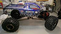 Axial Scx-10 AND Redcat Everest 10 COMBINED!! Nissan Titan FIrst ...