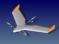 Name: OrangeFalconHybrid.png Views: 118 Size: 96.8 KB Description: A Tricopter/Fixed-Wing Hybrid, currently in design stages.