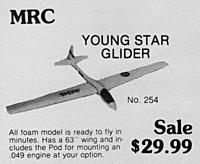 Name: MRCYoungStar.jpg Views: 109 Size: 269.3 KB Description: Some one had mentioned this new to me sailplane.