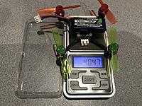 Around or under (depends on props) 40g with 2S