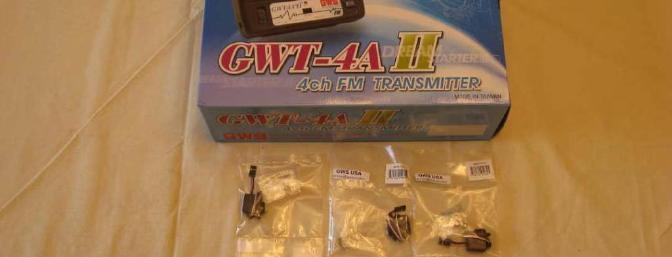 GWS provided all the necessary radio equipment. Be sure the receiver and transmitter are compatible. Mine were not.