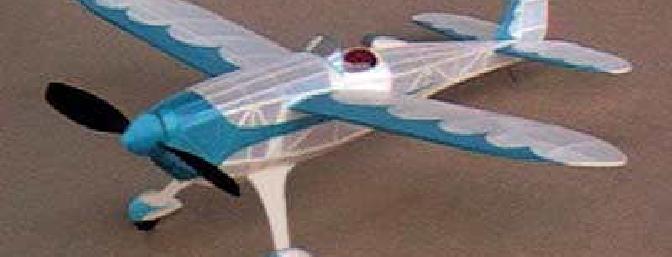 Jason McGuire's free flight Daddy-O Embryo Racer.