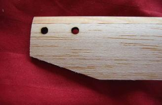 The rotors have a hardwood leading edge.
