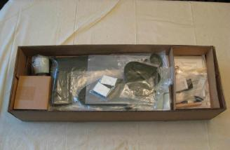 The contents are protected by carboard dividers and all small parts are bagged.