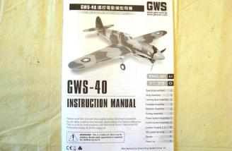 A well done instruction book in English and Chinese.