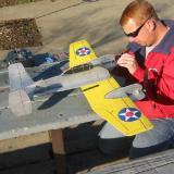 """Test pilot """"Red"""" prepares #2"""
