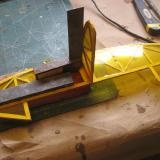 Take care to align the tail parts accurately. The rudder and elevator can be hinged with tape.