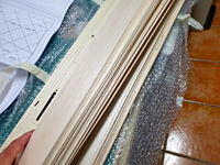 Name: 20200918_143318.png Views: 78 Size: 2.41 MB Description: And the really good thing: aside from the six blank balsa sheets, there are more than twenty sheets of wood of different thicknesses and types. Promising!