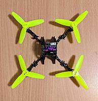 Name: Top view Zappy 130mm with 3 inch props a.jpg Views: 12 Size: 201.3 KB Description:
