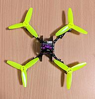 Name: Top view Zappy 130mm with 3 inch props.jpg Views: 10 Size: 157.5 KB Description: