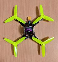 Name: Top view Zappy 120mm with 3 inch props touching side plates.jpg Views: 5 Size: 161.1 KB Description: