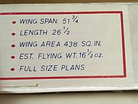 Name: IMG_6990[1].jpg Views: 52 Size: 764.6 KB Description: Glider specifications.
