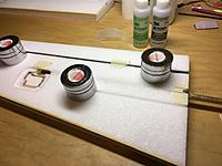 Name: IMG_2293.jpg Views: 46 Size: 563.3 KB Description: Tube glued in LH wing panel. Used 30 minute epoxy.