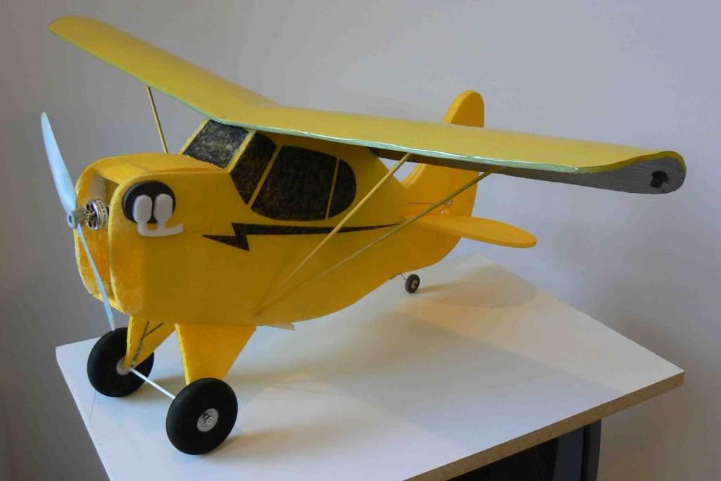 Cartoon Cub Von Firstshirt Free Model Airplane Plans