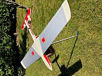 Name: Quick Silver .jpg Views: 111 Size: 155.3 KB Description: Bottom side.  Ailerons are top driven and bottom hinged.