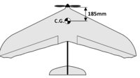 Name: A8B3BD47-E3C0-436D-A4BA-37F6F9FD396A.png Views: 46 Size: 178.6 KB Description: With the battery in, locate the CG. It should be around 185mm back from the prop.