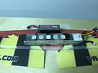 Name: 12.JPG Views: 29 Size: 2.87 MB Description: press the wing halves together, separate to let the foamtac tack up, then press firmly togeth and weigh down and let it dry. Make sure that everything lines up.