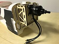 Name: 38.JPG Views: 38 Size: 2.13 MB Description: With the four longer screws included in the hardware kit, mount the motor onto the motor box.