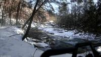Name: vlcsnap-2014-01-22-14h04m10s255.jpg Views: 176 Size: 385.1 KB Description: FPV Wraith truck exploring Sandy Brook in NW CT.
