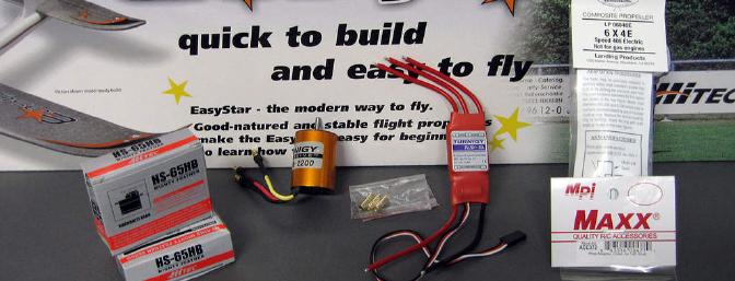 Ready Made RC Brushless upgrade + servos
