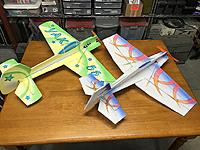 Name: IMG_1662.JPG Views: 13 Size: 375.8 KB Description: Leadfeather Yak-55 and EPP One Hit Wonder.