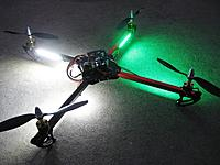 Name: ma-quad2-01.jpg Views: 330 Size: 300.2 KB Description: I rebuilt the Talon V2 with this frame for Michael.  I'm really happy with this one right now.
