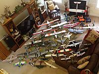 Name: image-42823502.jpg Views: 33 Size: 1.04 MB Description: All other planes laid out for glamour shot.  This is about all of 'em