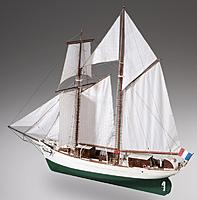 Name: French Navy Schooner wooden model ship kit by Dusek.jpg Views: 32 Size: 59.6 KB Description: