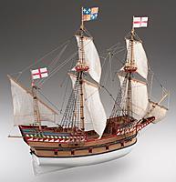 Name: Golden Hind wooden ship model kit - agesofsail.jpg Views: 27 Size: 72.7 KB Description: