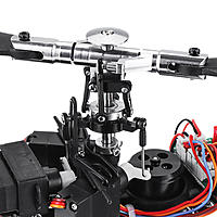 sample test:XK K130 2 4G 6CH Brushless 3D6G System