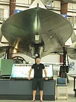 Name: Blake and SR-71 a.jpg Views: 630 Size: 81.6 KB Description: Yuma SR-71 dsplay
