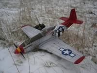 """Name: MY PLANES-52.jpg Views: 609 Size: 122.5 KB Description: This was my first plane to """"survive"""" a year of flying. Hard to see in this pic, but there's ice formed on the wings and canopy."""