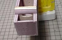 Name: Cowling box front.jpg Views: 20 Size: 60.8 KB Description: View from bottom front.  I'll cut the cowling opening in the closest, foam bulkhead later.