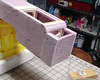 Name: Cowling box side.jpg Views: 25 Size: 511.7 KB Description: New fuse sides will be continuous, without the nose bulkhead visible (at this point).