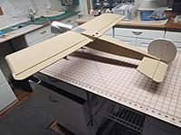 Name: Left Rear.jpg Views: 36 Size: 1.90 MB Description: Just taped the ailerons on, for the photo.