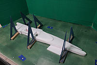 Name: 6 Laminations.JPG Views: 21 Size: 1.76 MB Description: Note spacer under the aft fuse.