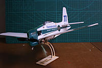 Name: F8F1.JPG Views: 187 Size: 1.70 MB Description: The kit includes a nicely cut stand.  Note that the motor is simply glued in place.