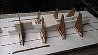 """Name: Sides joined at rear, top sheeted.jpg Views: 153 Size: 465.4 KB Description: Now right-side-up, the turtledeck gets sheeted with 1/8"""" HIF."""