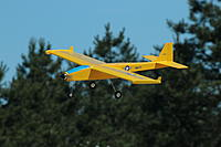 Name: Valkyrie.jpg Views: 53 Size: 403.2 KB Description: Valkyrie scratch-built, about 250 sq. in., 18 oz., with receiver, 3 hs-55 servoes, ESC, and Turnigy motor.  We flew it at Warwick on an 8 X 3.8 slow-flier prop, but then went to an APC 7 X 5E and now it moves out a lot better!
