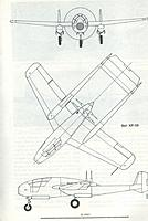 Name: xp-59.jpg Views: 186 Size: 484.2 KB Description: 3-view from Aero Publisher's book.  Original was to have 6 .50 cal. machine guns plus twin  20mm cannon (on either side of pilot's feet).   That would've been a pretty hefty punch!