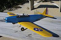 Name: PT19.JPG Views: 42 Size: 1.03 MB Description: PT-19 has Turnigy 1400 Kv motor, 3 HS-55 servos and Thunderbird 18 ESC. Needs receiver