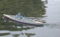 Name: bismarck under way 1.jpg Views: 92 Size: 20.7 KB Description: The Bismarck