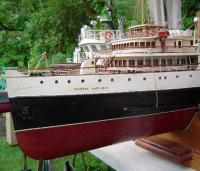 "Name: port bow 1.jpg Views: 94 Size: 31.7 KB Description: scratch built CN Steamship ""Princess Kathleen"""