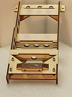 """Name: 20170419_203111.jpg Views: 46 Size: 235.0 KB Description: I applied the same design used for the ESC connector assembly to hold the connectors in the battery tray: laminated 3mm ply layers with 0.010"""" G10 layers in between.  Super strong!"""