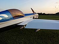 Weather was perfect today. Got five flights in - that's ten IMAC sequences, or 100 aerobatic maneuvers.