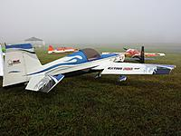 """My 87"""" electric Extra all ready to go - minus batteries and clear skies."""