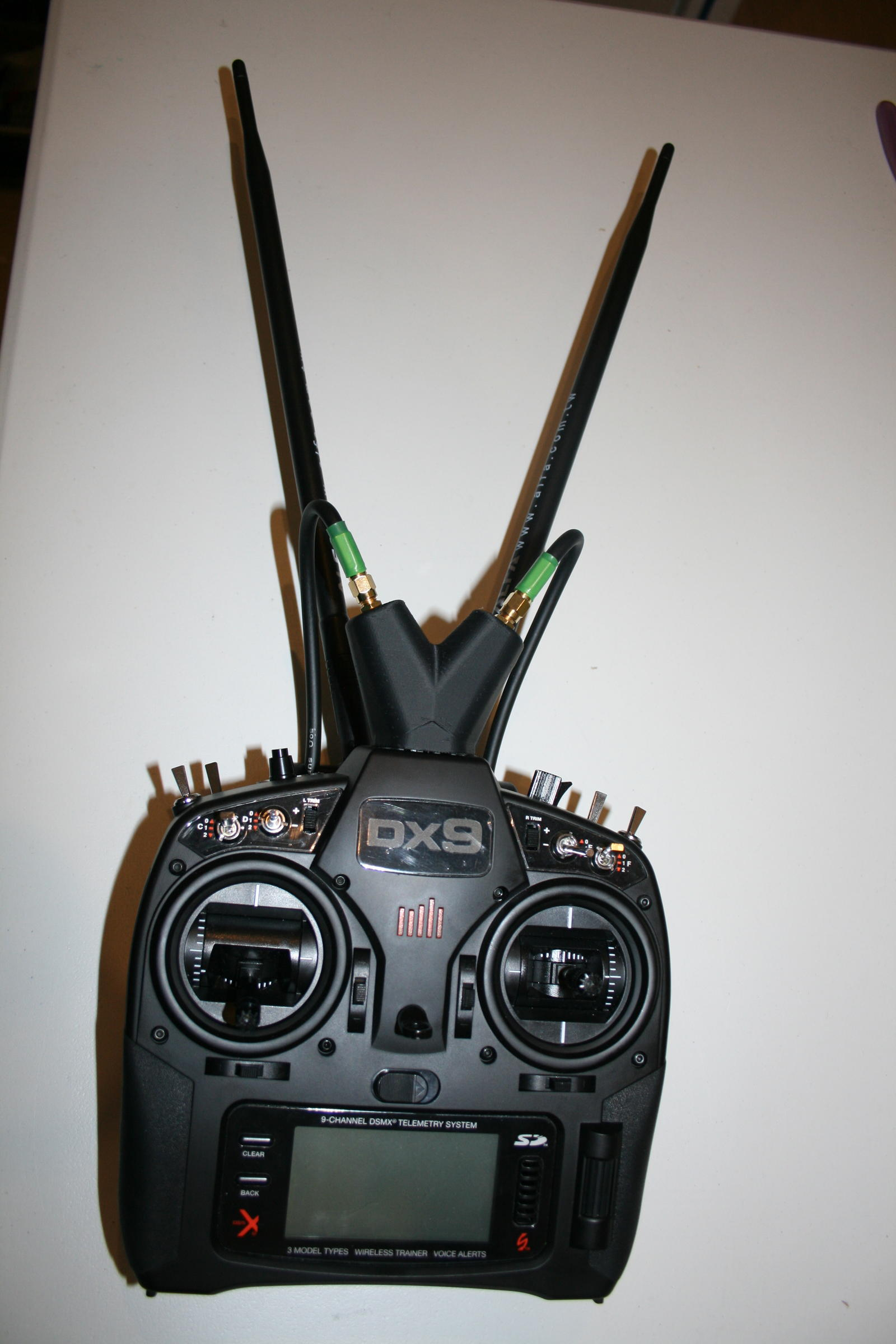 Spektrum DX9 Tx Range Booster Kit Stages 1 to 4 - RC Groups