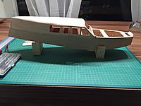 Name: IMG_7015.jpg Views: 4 Size: 643.9 KB Description: Rear end of the cabin is now sanded to shape.
